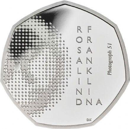 2020 Rosalind Franklin Silver Proof 50p